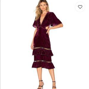 NWT Tularosa Kaylee Dress in Plum L